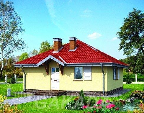 Построим кирпичный дом 8 х 8 м,  Москва