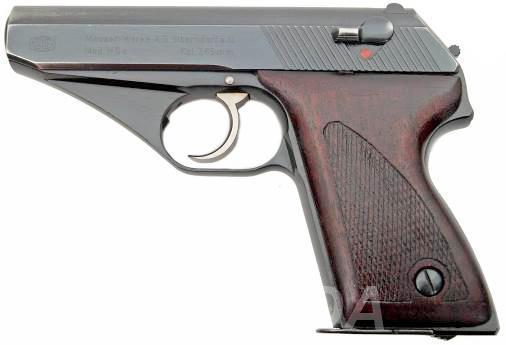 Макет Массо габаритный пистолета Mauser HSc, Вся Россия