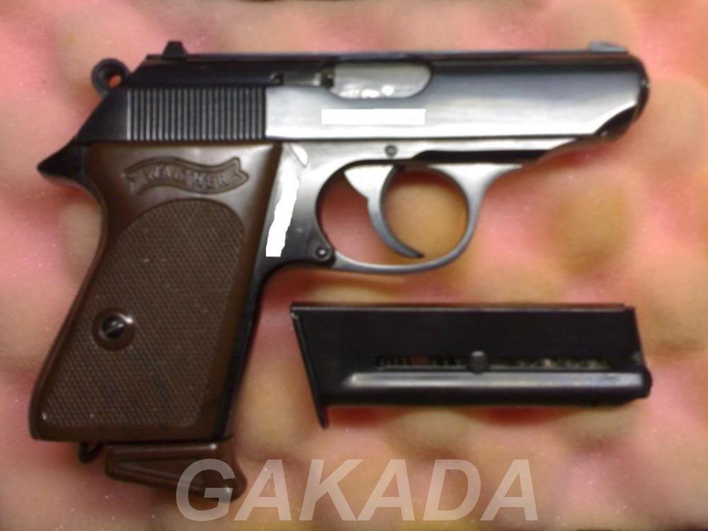 Макет Массо-Габаритный пистолета Walther PPK-L, Вся Россия