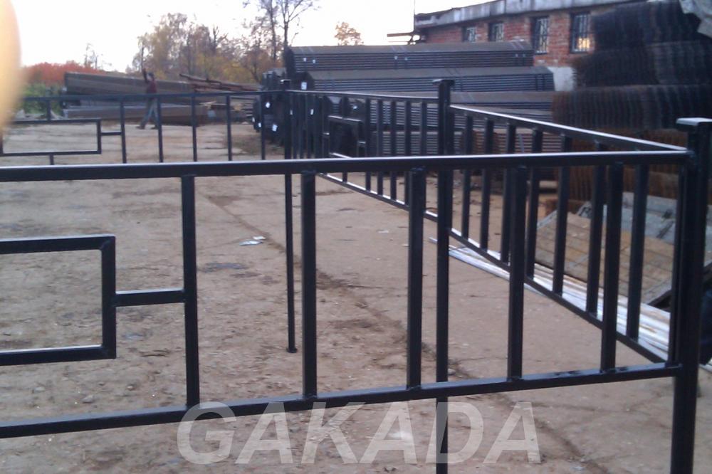 Производим ритуальные ограды из профильной трубы,  Краснодар