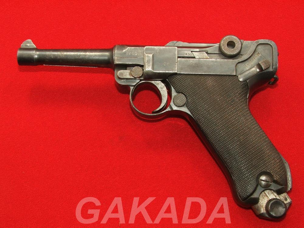 Макет Массо-Габаритный пистолета Luger p08, Вся Россия