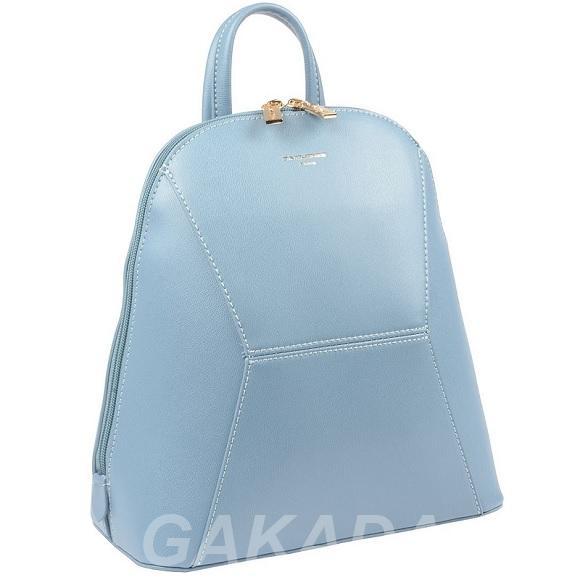 Городской рюкзак экокожа David Jones 5528-2 Jaguar blue,  Москва