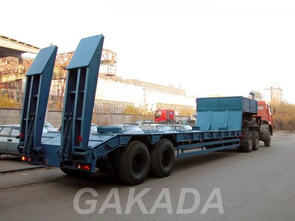 Перевозка негабаритных грузов тралом,  Москва