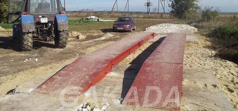 Весы автомобильные до 40 тонн, Корсаково