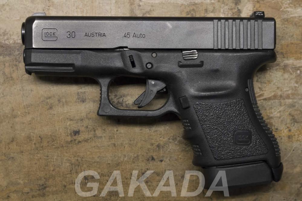 Макет Массо-Габаритный пистолета Glock 30, Вся Россия