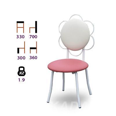 Стул для детских комнат Цветок, Вся Россия