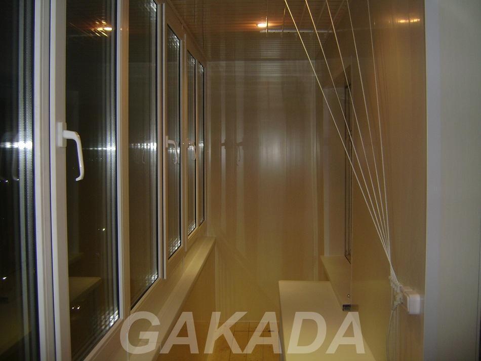 Изготовление и монтаж шкафчиков и полок на балкон, Раменское