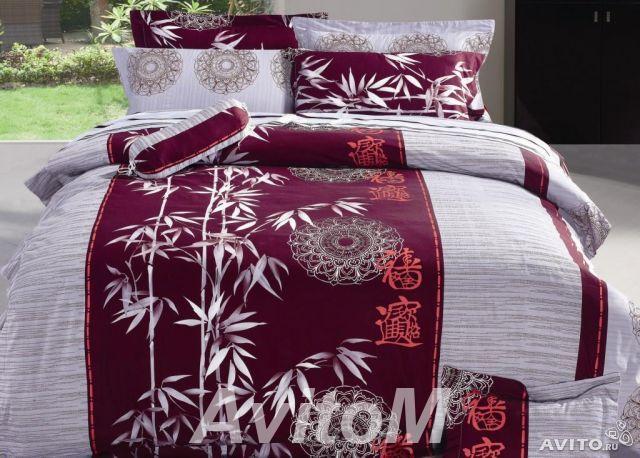 Комплекты постельного белья из сатина,  Москва