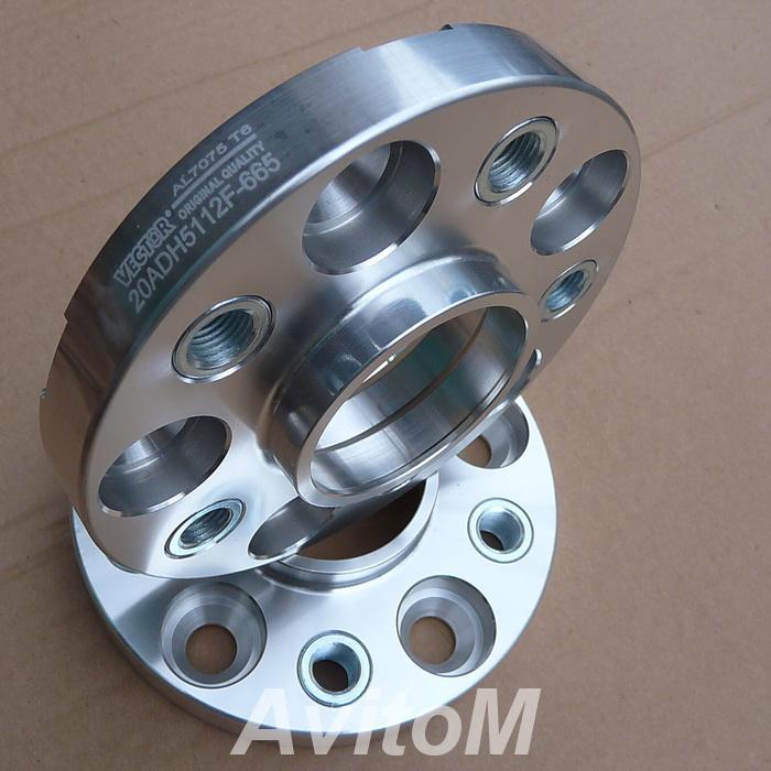 Проставки колесные Вектор для Porsche 25mm, Вся Россия