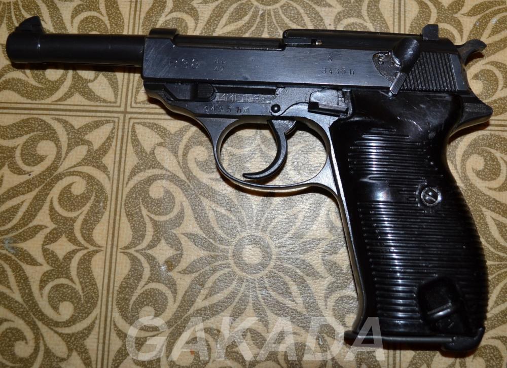 Макет массо-габаритный пистолета Walther p38, Вся Россия