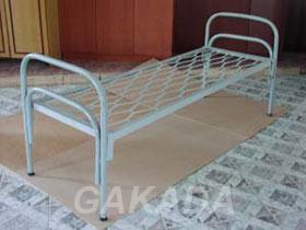 Кровати металлические одноярусные с металлическими сетками,  Пермь