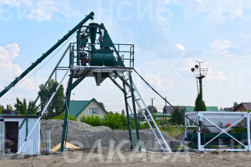 Оборудование для бетонных заводов РБУ Бетонные заводы НСИБ, Вся Россия