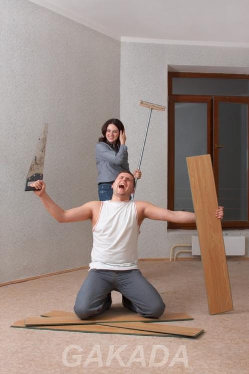 Косметический ремонт квартиры комнаты кухни,  Москва