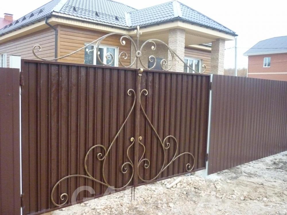 кованные ворота,  Нижний Новгород