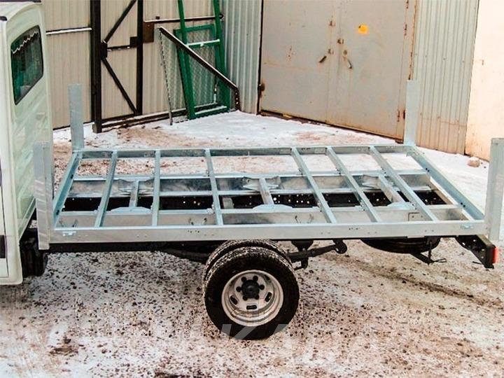 Изготовление рам, подрамников грузовых авто,  Краснодар