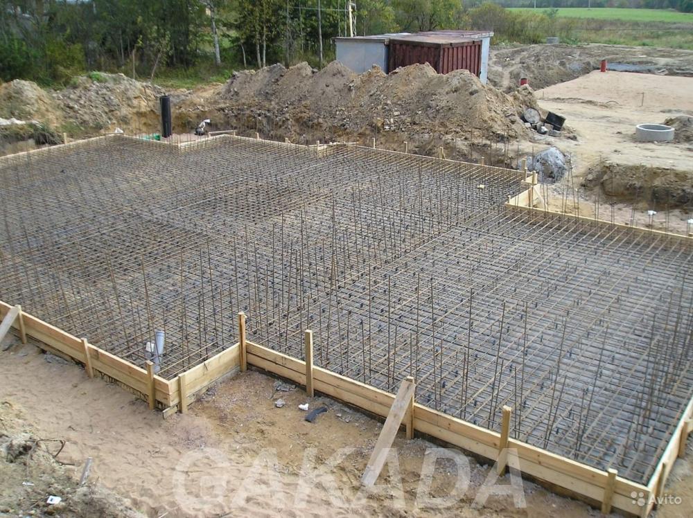 Строительство фундамента, Сочи