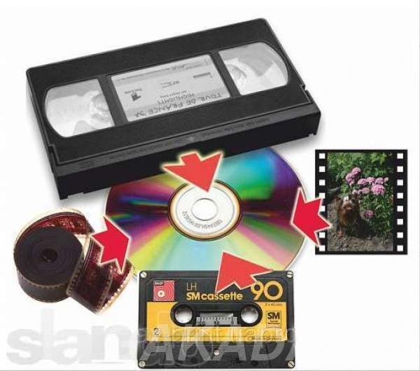 Перезапись видеокассет на Dvd-диски,  Москва