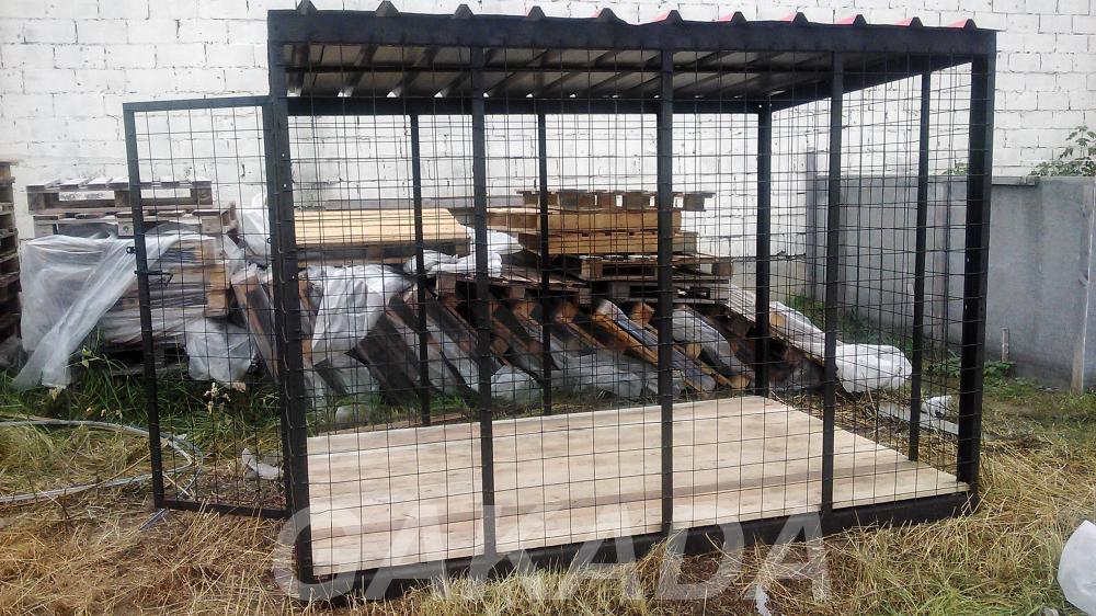 Вольеры с прутьями или из сетки,  Кострома
