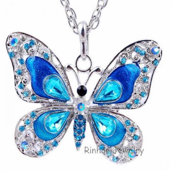 Женское Ожерелье с бабочкой,  Липецк