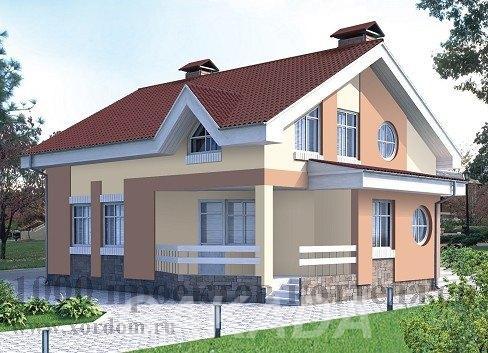 Двухэтажный кирпичный дом эконом класса на 214 кв м,  Москва