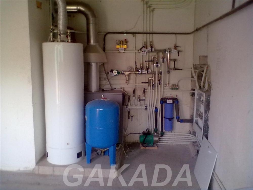 Монтаж инженерных систем водопровод канализация отопление,  Саратов