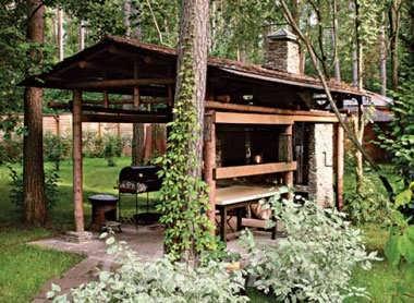 Летняя кухня с мангалом, Вся Россия