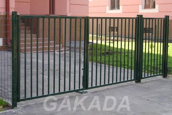 Садовые металлические ворота готовая конструкция,  Волгоград