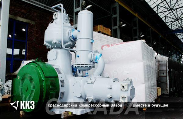 Компрессор газовый без смазки промышленный от 5 до 400 атм, Вся Россия