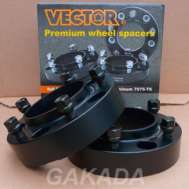 Проставки колесные на Toyota Tundra 50mm от Вектор, Вся Россия