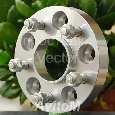 Проставки для колес Infiniti-30мм от Вектор, Вся Россия