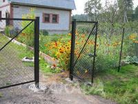 Садовые калитки можно заказать столб с проушиной,  Волгоград