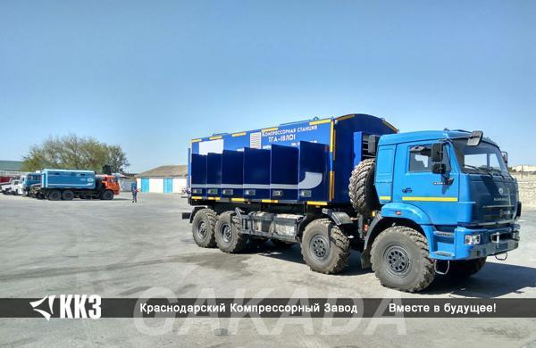 Аренда азотной компрессорной станции от 5 до 350 атм, Вся Россия