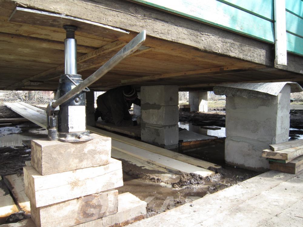 Подъем домов Реставрация фундаментов, Вся Россия