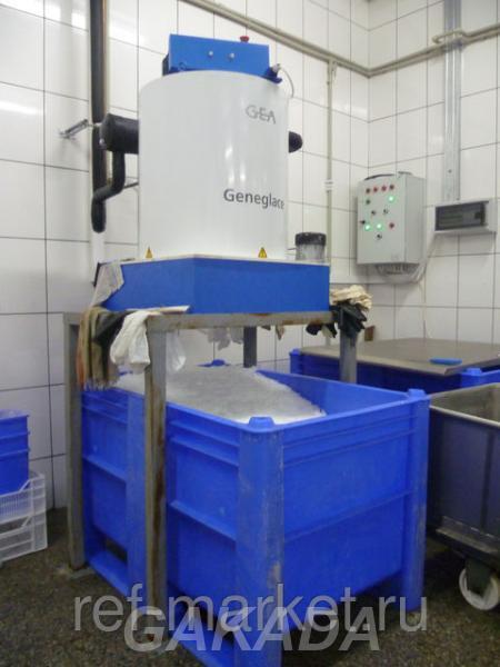 Льдогенераторы чешуйчатого, блочного и формового льда, Вся Россия