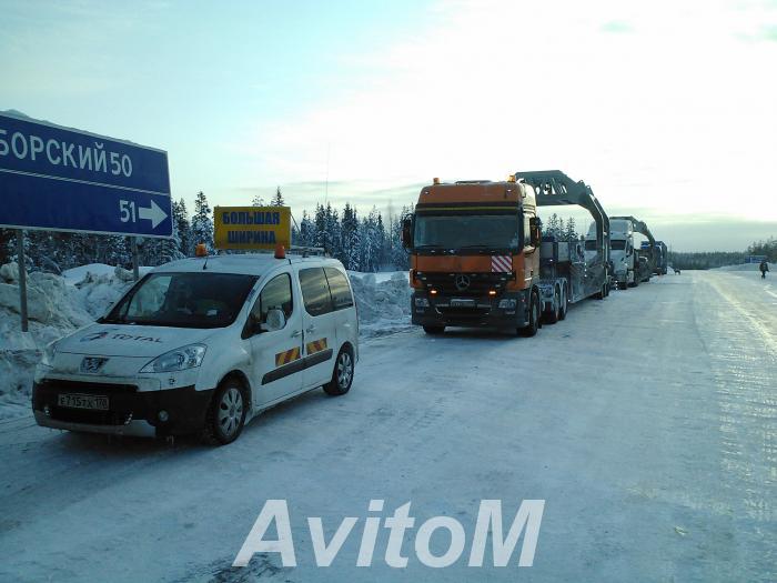Негабаритные перевозки промышленного оборудования,  Санкт-Петербург