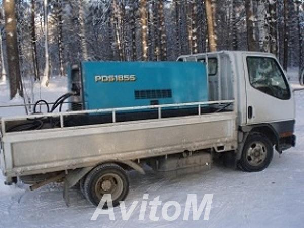 Услуги компрессора на колесах,  Иркутск