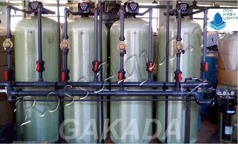 Установка умягчения воды и удаления железа РосАква Ф, Вся Россия