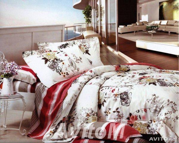 Коллекция постельного белья Шелковый сатин,  Москва