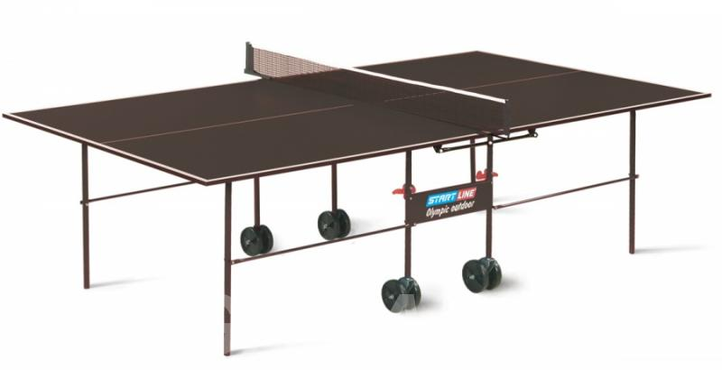 Теннисный стол Start Line 6023 Olympic Outdoor с сеткой,  Барнаул