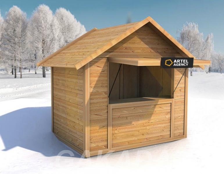 Изготавливаем деревянные ярмарочные домики,  Ростов-на-Дону