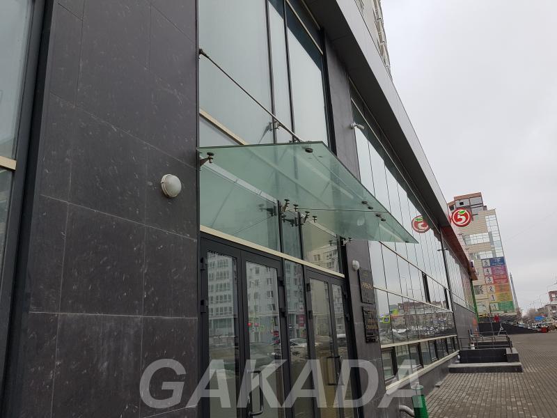 Стеклянный козырек лестничные ограждения установка ремонт,  Екатеринбург