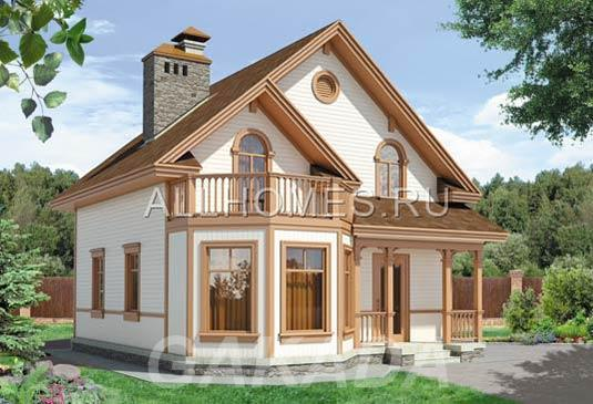 Каркасный загородный дом,  Москва
