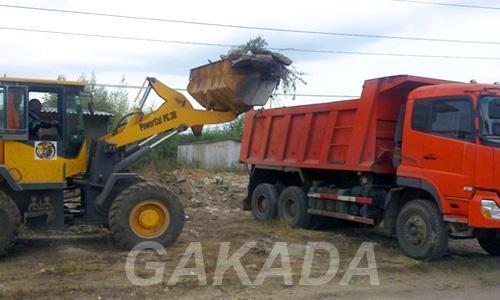 Уборка и вывоз мусора, грунта,  Челябинск