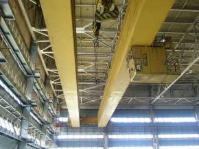 Ремонт и обслуживание мостовых кранов