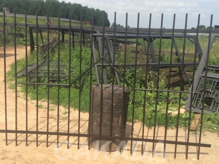 Секции заборные из прутьев,  Краснодар