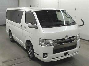 Грузопассажирский микроавтобус Toyota Hiace Van гв 2018 са