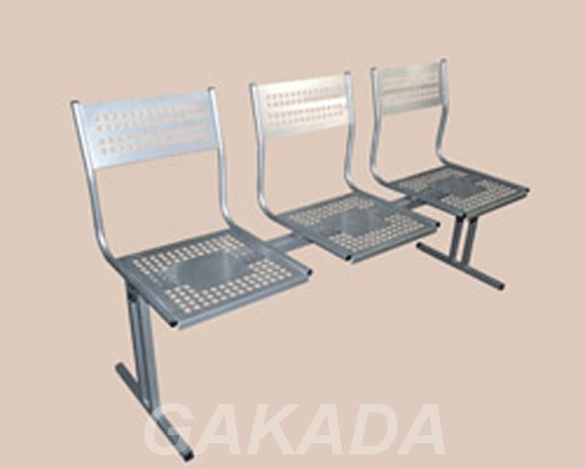 Перфорированные многоместные секции стульев, Вся Россия