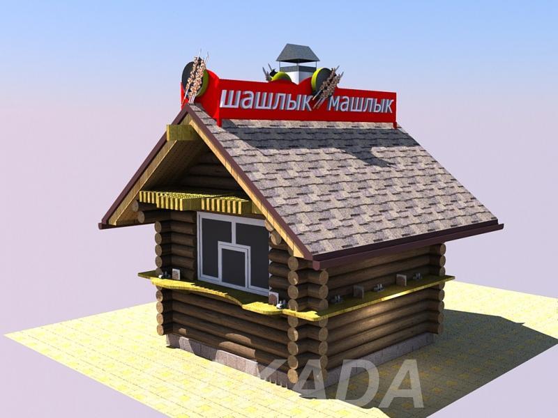 Деревянные киоски с мангалом,  Ростов-на-Дону