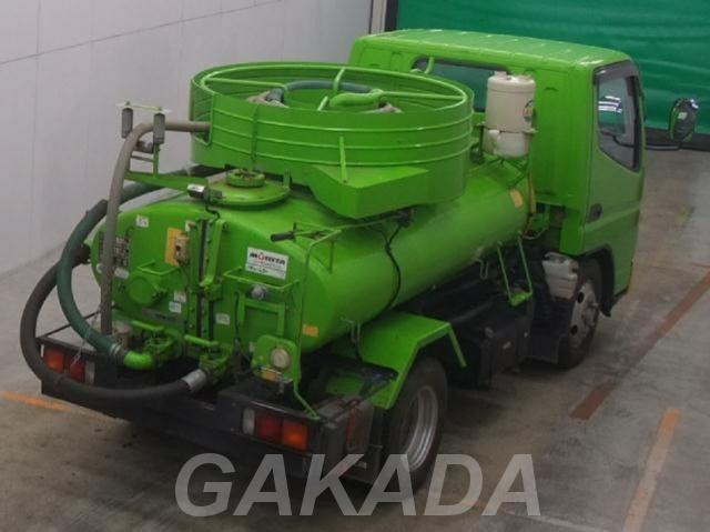 Ассенизатор вакуумная машина цвет зеленый дизель, Вся Россия
