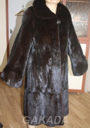Шуба норковая, размер 48-50 XL, Магнитогорск